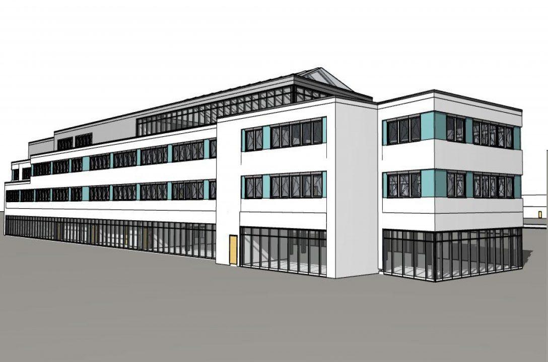 """Medizinisches Zentrum im """"Gesundheitswohnpark Emmerich"""" auf ca. 7500 m² Nutzfläche, Praxen, Reha-Einrichtungen, Apotheke"""