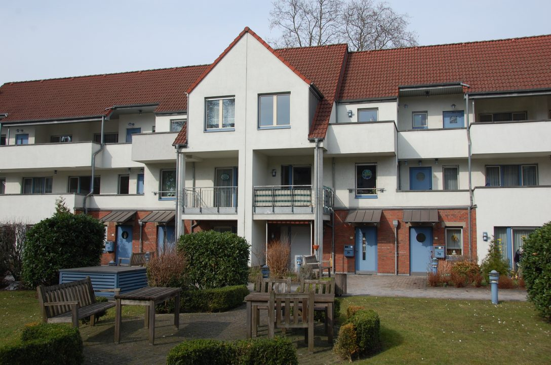110 Service-Wohnungen mit Pflegeeinrichtung